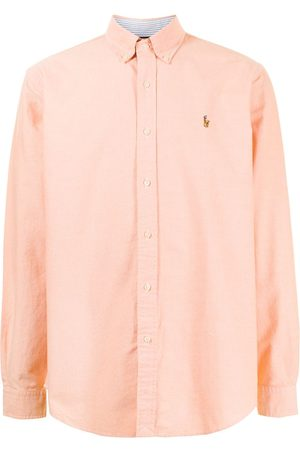 Polo Ralph Lauren Men Long sleeves - Long-sleeved embroidered pony shirt