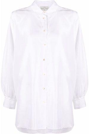 FORTE FORTE Long-sleeve silk shirt