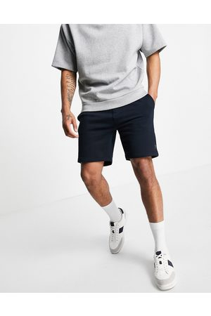 French Connection Jersey shorts in navy