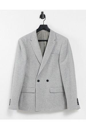 River Island Wool suit jacket in herringbone