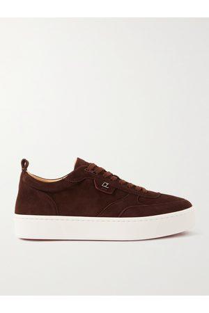 Christian Louboutin Men Sneakers - Happyrui Suede Sneakers