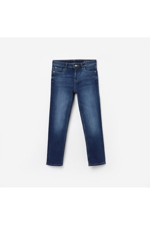 Allen Solly Boys Stonewashed Slim Fit Jeans