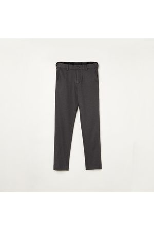 Fame Forever Young Boys Solid Slim Fit Trousers