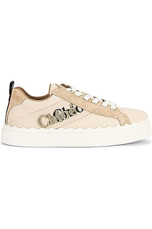 Chloé Lauren Embroidered Sneakers in