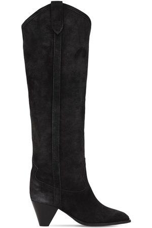 Isabel Marant 60mm Lihana Suede Tall Boots