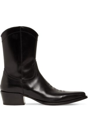 Dsquared2 Men Boots - Leather Western Boots