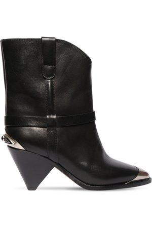 Isabel Marant 75mm Limza Leather Ankle Boots
