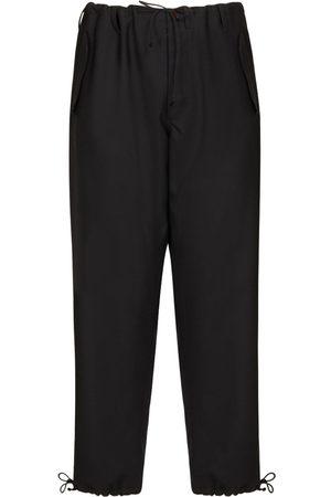 Maison Margiela Wool Trousers W/drawstrings