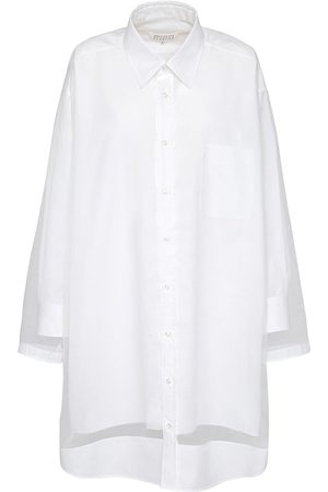 Maison Margiela Women Casual Dresses - Long Cotton Shirt Dress