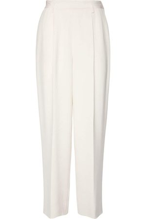 Ralph Lauren Women Trousers - Heavy Silk Cady Straight Leg Pants