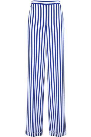 Ralph Lauren Women Trousers - Printed Silk Crepe De Chine Pants