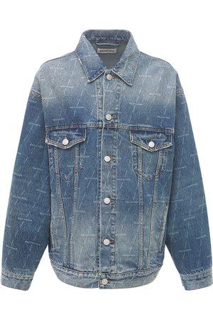 Balenciaga Oversize Organic Cotton Denim Jacket