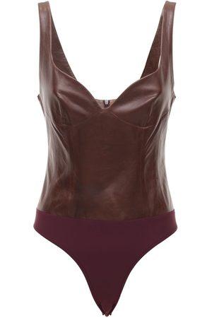 Zeynep Arcay Women Bodysuits - Heart Leather Bodysuit