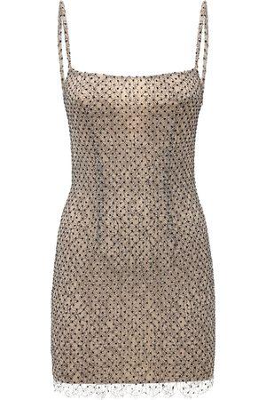 Zeynep Arcay Women Bodycon Dresses - Polka Dot Lace Bodycon Dress