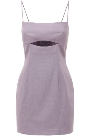 Zeynep Arcay Women Bodycon Dresses - Wool Bodycon Dress W/ Cutout
