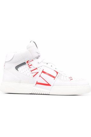 VALENTINO GARAVANI Men Sneakers - Logo-print stripe-detail sneakers