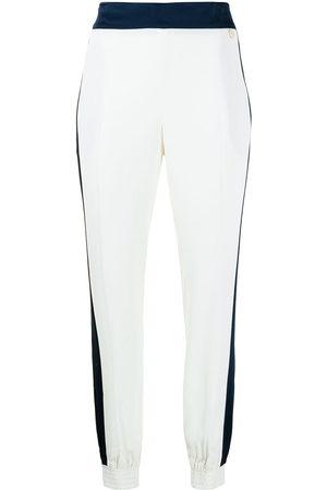 Twin-Set Women Slips - Pressed-crease slip-on trousers