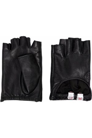 Karl Lagerfeld Charms leather gloves