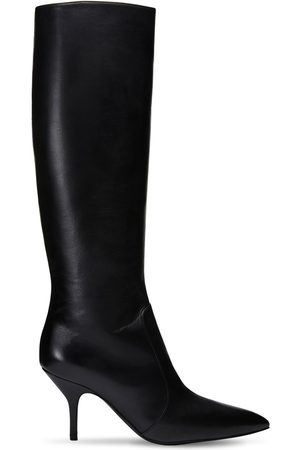 MAGDA BUTRYM Women High Leg Boots - 85mm Egypt Leather Tall Boots