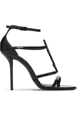 Saint Laurent 110mm Cassandra Patent Leather Sandals