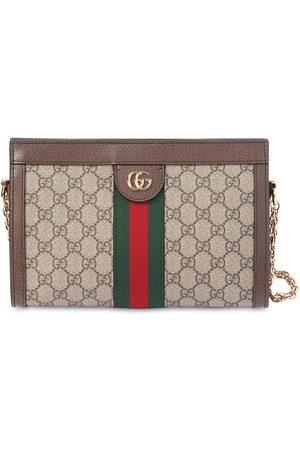 Gucci Ophidia Gg Supreme Leather Shoulder Bag