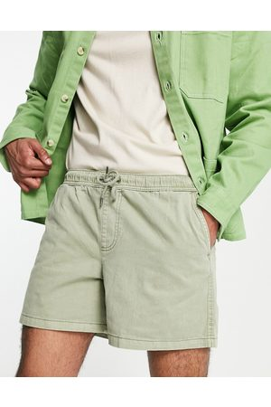 New Look Pull on shorts in washed