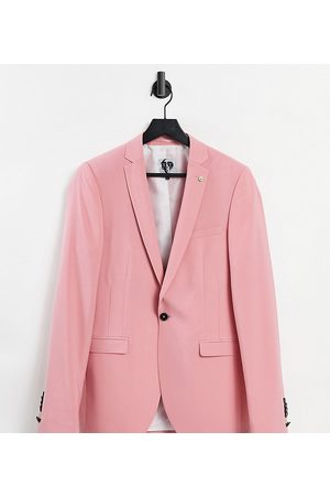 Twisted Tailor TALL suit jacket in rose