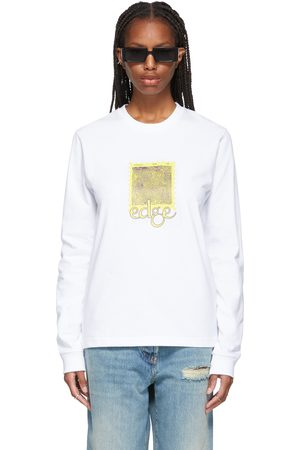 Women Long Sleeve - SSENSE WORKS SSENSE Exclusive 'Postcards From The Edge' Long Sleeve T-Shirt