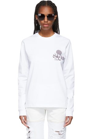 Women Long Sleeve - SSENSE WORKS SSENSE Exclusive 'Out Of Sight' Long Sleeve T-Shirt