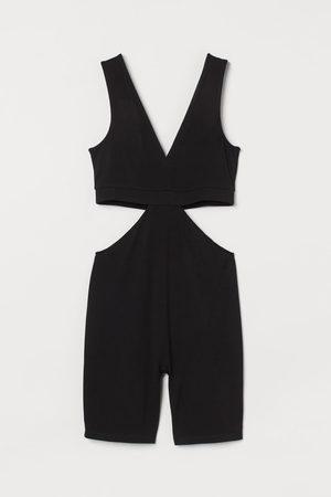 H&M Women Rainwear - Cut-out leotard