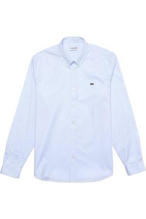 Lacoste Cotton Long Sleeve Shirt CH2933 - Sky