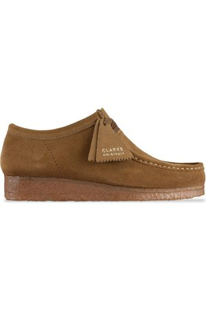Clarks New Wallabee - Cola Suede