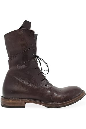Moma Leather Mid Calf Boot