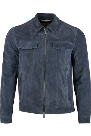 CANALI Suede Bomber