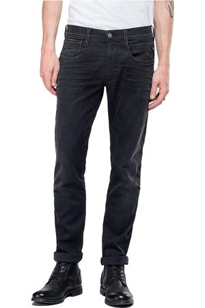Replay Hyperflex Anbass CLOUDS Edition Slim Fit Jeans - Washed