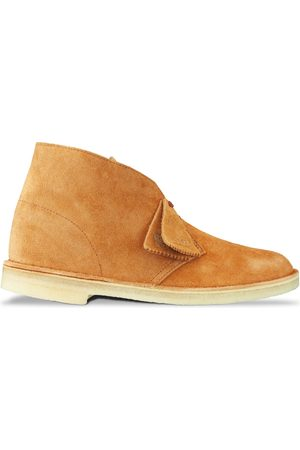 Clarks New Desert Boot - Ginger Suede
