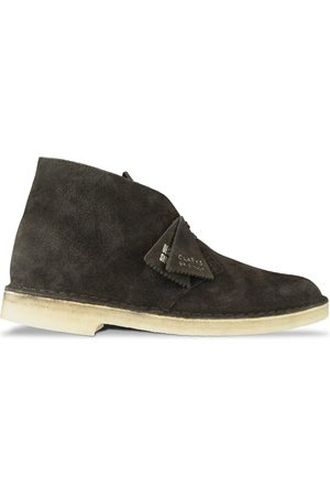 Clarks New Desert Boot - Chocolate Suede
