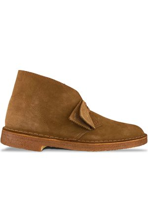 Clarks New Desert Boot - Cola Suede