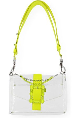 Orciani WOMEN'S SD0155FLU PVC SHOULDER BAG