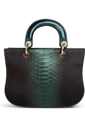 THALÈ BLANC Mademoiselle Satchel: Designer Crossbody Bag in Snakeskin
