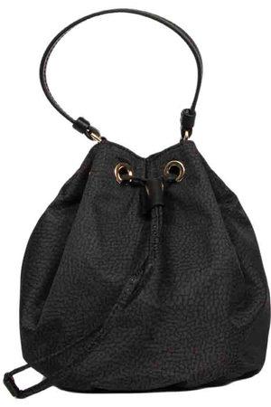 Borbonese WOMEN'S 934441X99100 POLYESTER SHOULDER BAG