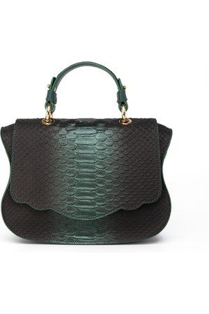 THALÈ BLANC Audrey Couture: Designer Crossbody Bag in Snakeskin