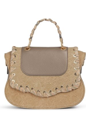 THALÈ BLANC Audrey Crossbody: Women's Luxury Crossbody Bag in Khaki