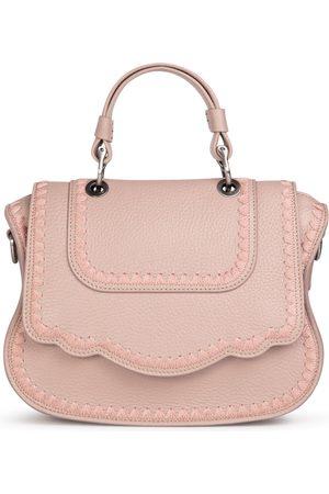 THALÈ BLANC Audrey Crossbody: /Blush Designer Crossbody Bag