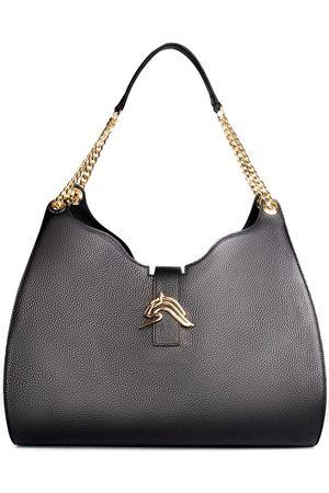 THALÈ BLANC Empire Cheetah Hobo Bag: Designer Shoulder Bag in Leather