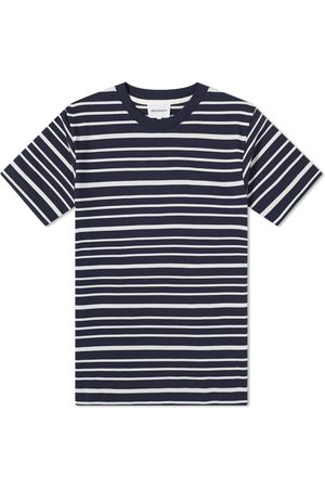 Norse projects Men T-shirts - Johannes Mariner Stripe Tee