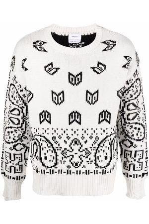 Rhude Paisley-print cotton jumper