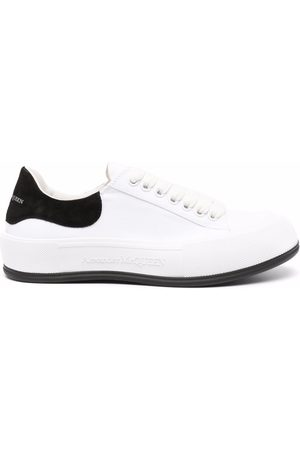 Alexander McQueen Deck lace-up plimsoll sneakers