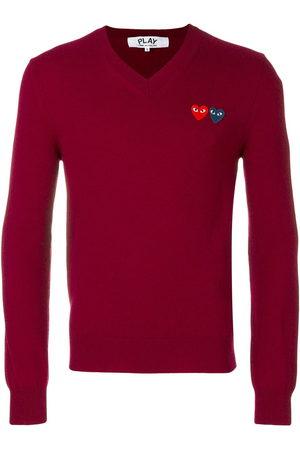 Comme des Garçons Men Jumpers - Heart logo knitted jumper