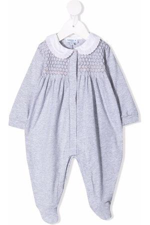 SIOLA Textured panel stretch-cotton pajama